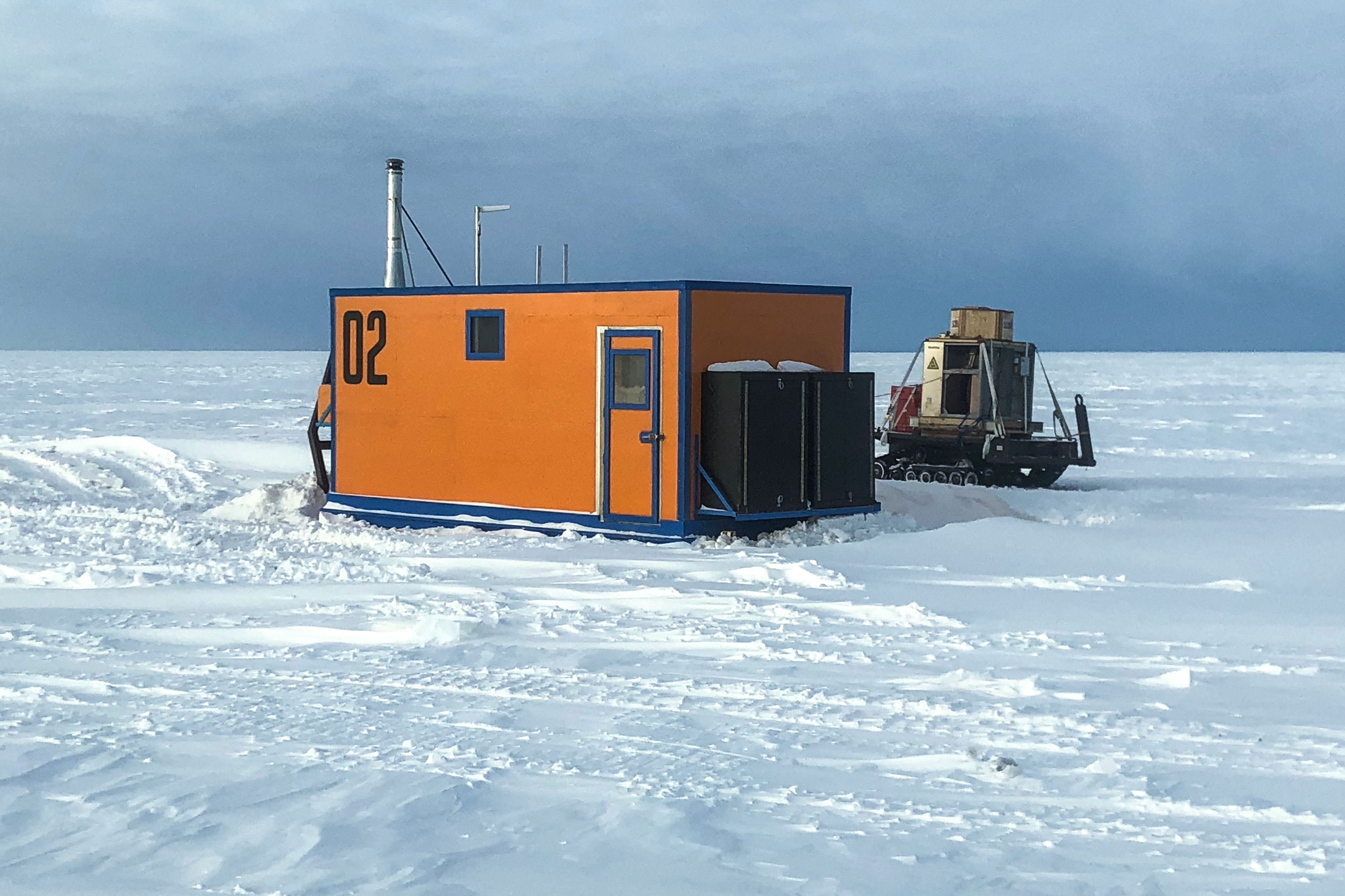 "First Taste of the Field: SCINI Team Sea Ice Test & Geophysics ""Deep Field Shakedown"""