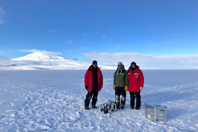 Geophysics Team Concludes Successful GPS Operations at Mercer Subglacial Lake